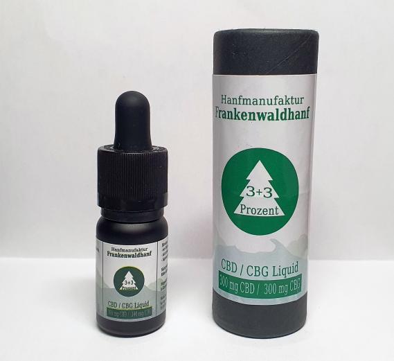 3% + 3% CBD + CBG Liquid